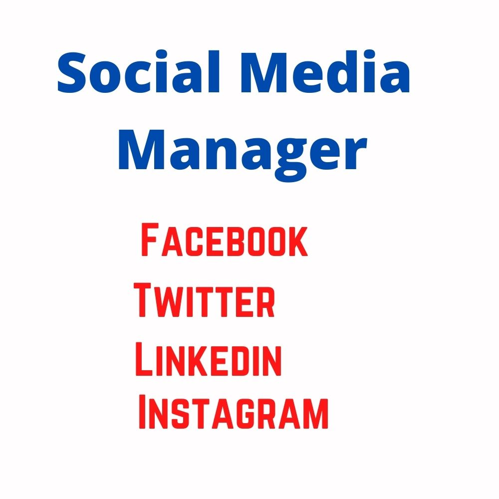 I will be your social media manager and content designer