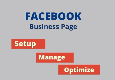 I will set up and manage your Facebook business page & SEO optimized.