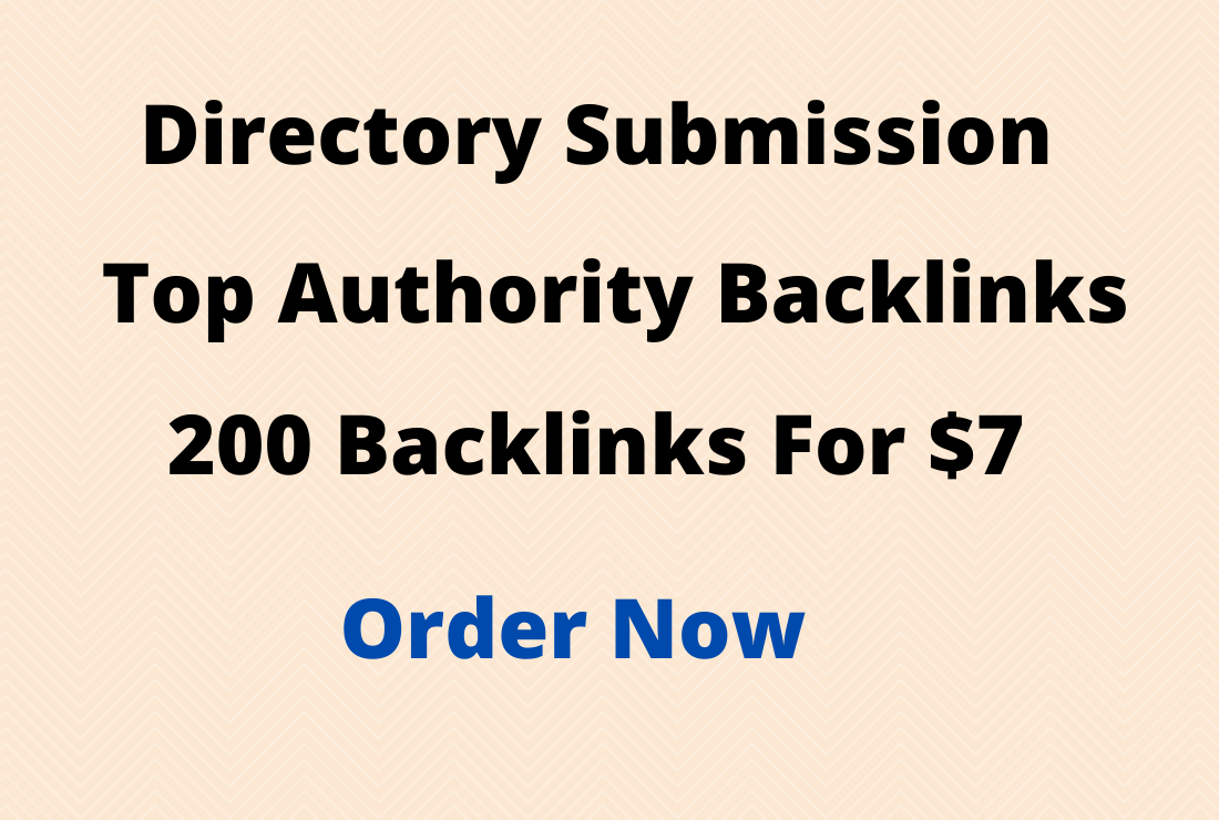 Provide 100 SEO-Friendly Directory Submission