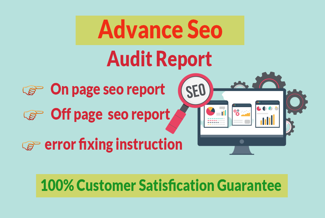 I will audit website and technical SEO audit report with strategy