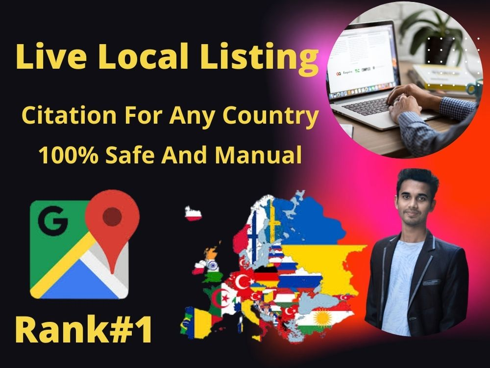 I will do Manually Local Business Listing+ Optimize Your Business