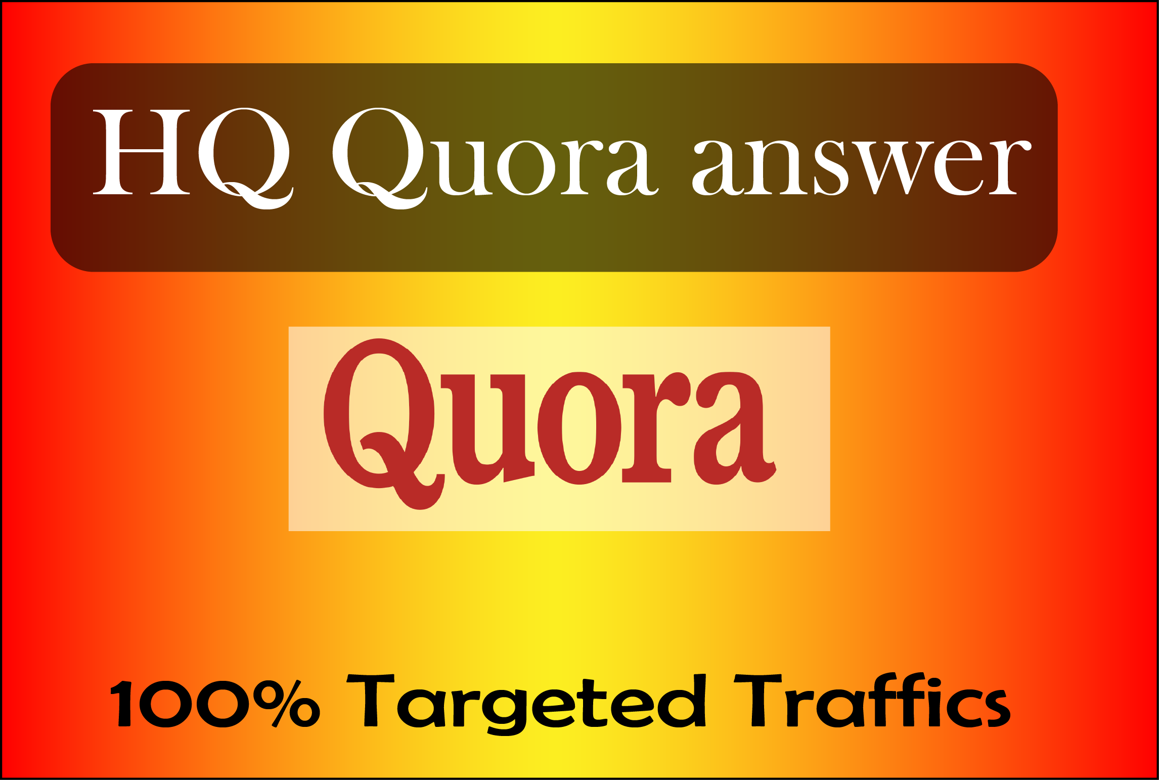 15 HQ Quora Answers For Guaranteed Traffic for your website