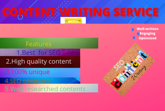 SEO optimized 1000 words web content