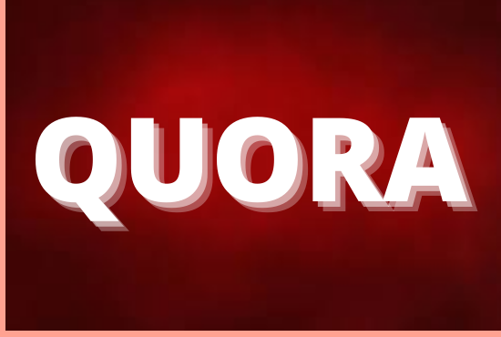 Promote your website with 50 high quality Quora Answers with backlink