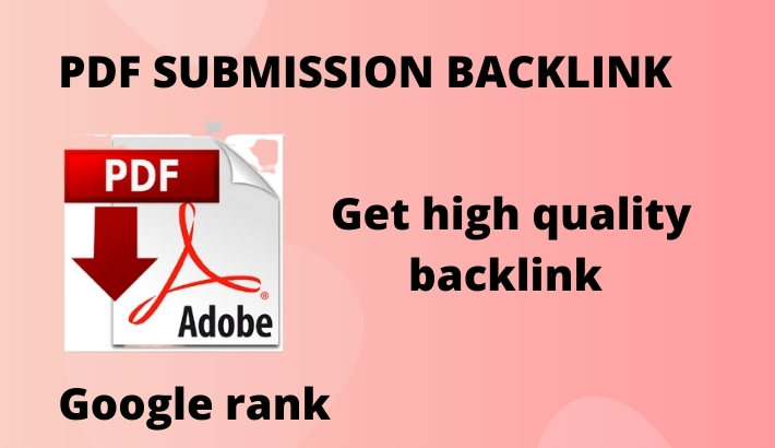 I will do PDF submission and top article sharing