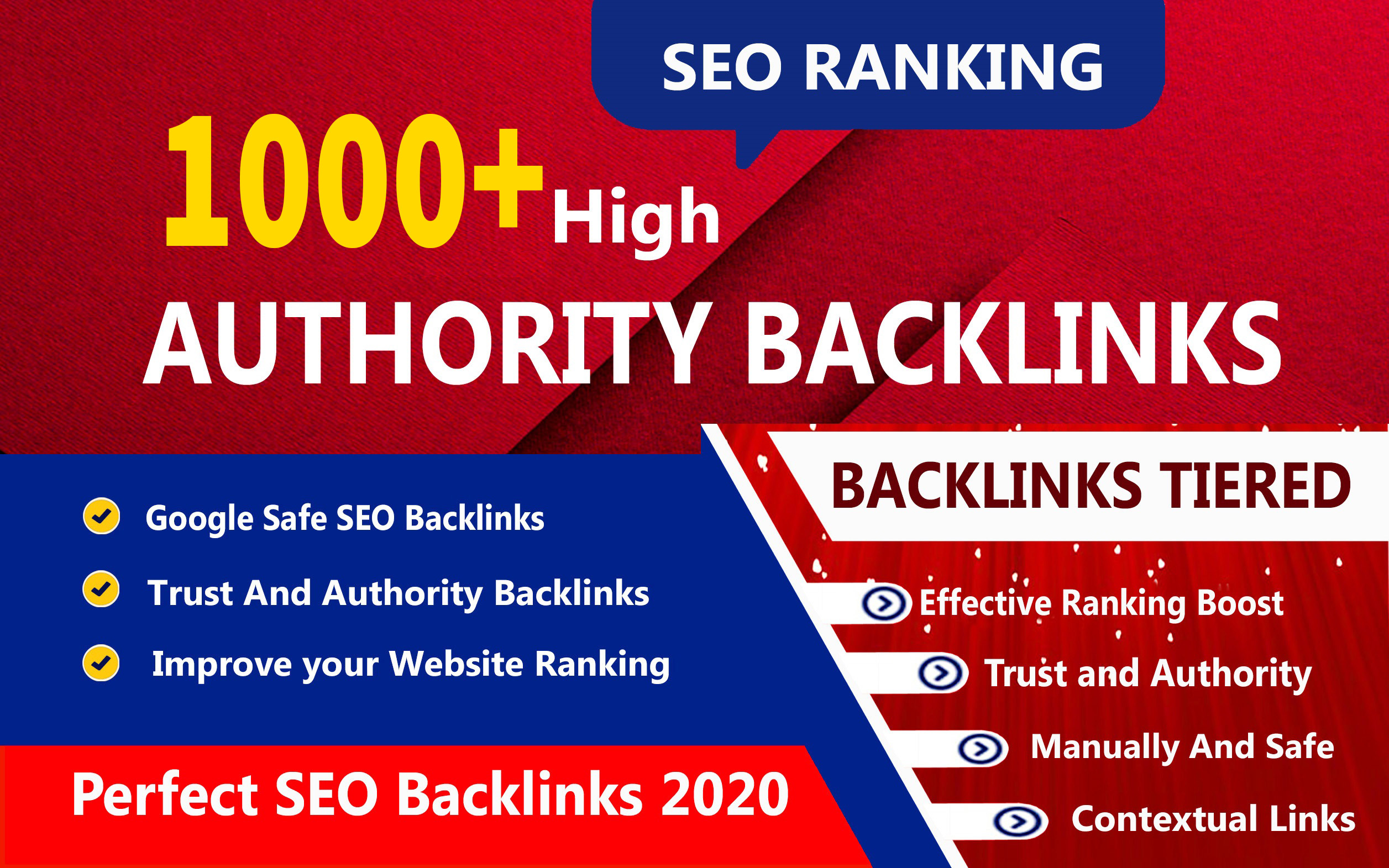 1000+ High DA 90+ HQ Links to Ranking Your Website by boost your web authority