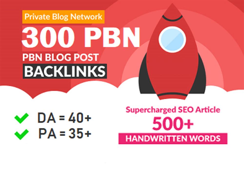 Get 300+ WEB 2.0 PBN Dofollow Backlinks DA 60+ PBN Links Increase Domain Authority in your website