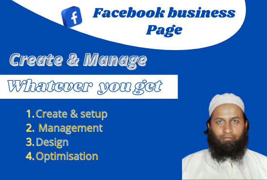 I will make facebook business page