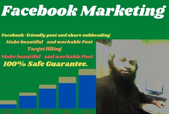 I will do facebook marketing for your business success