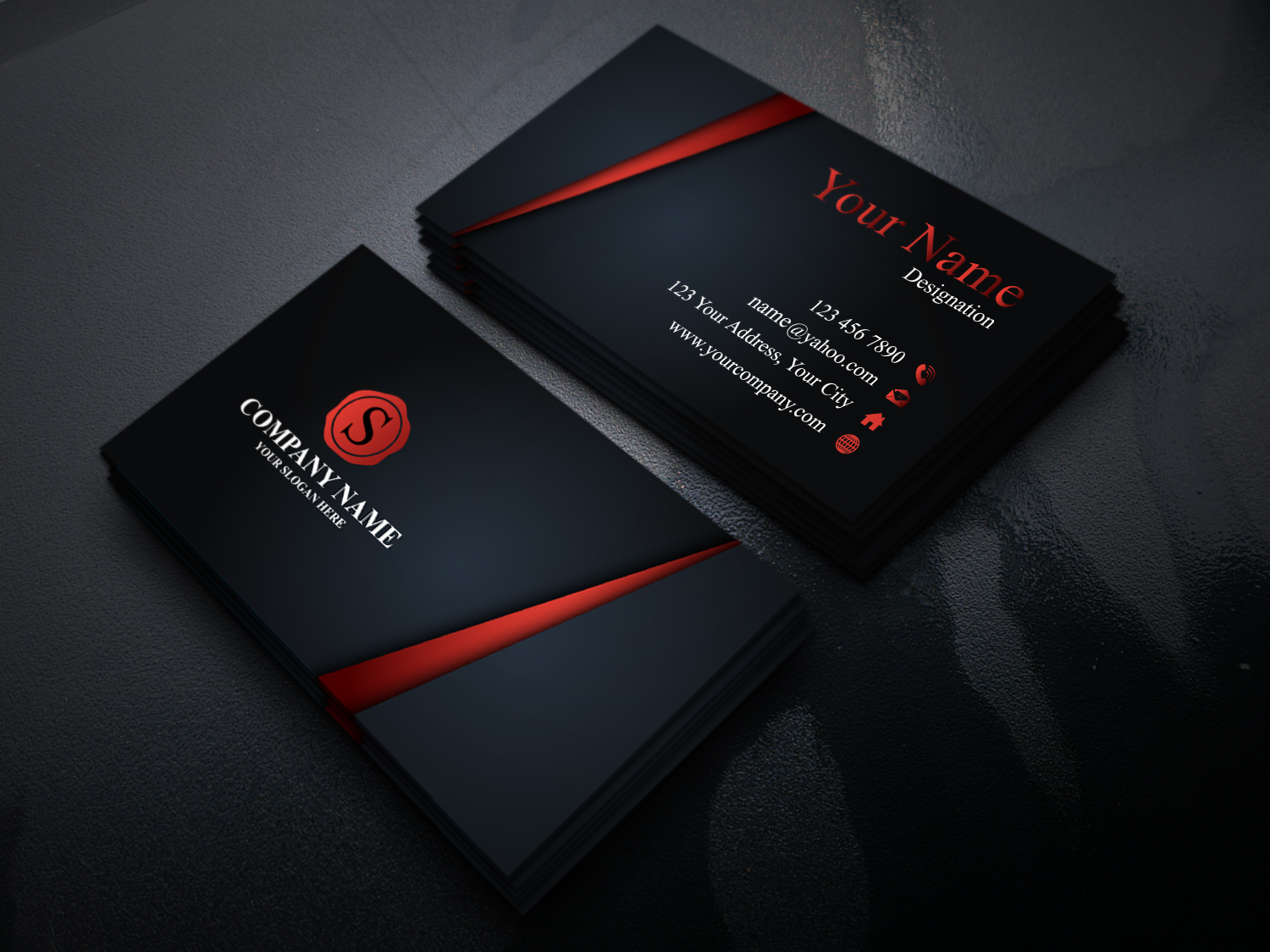 I will do Unique and creative business card design.