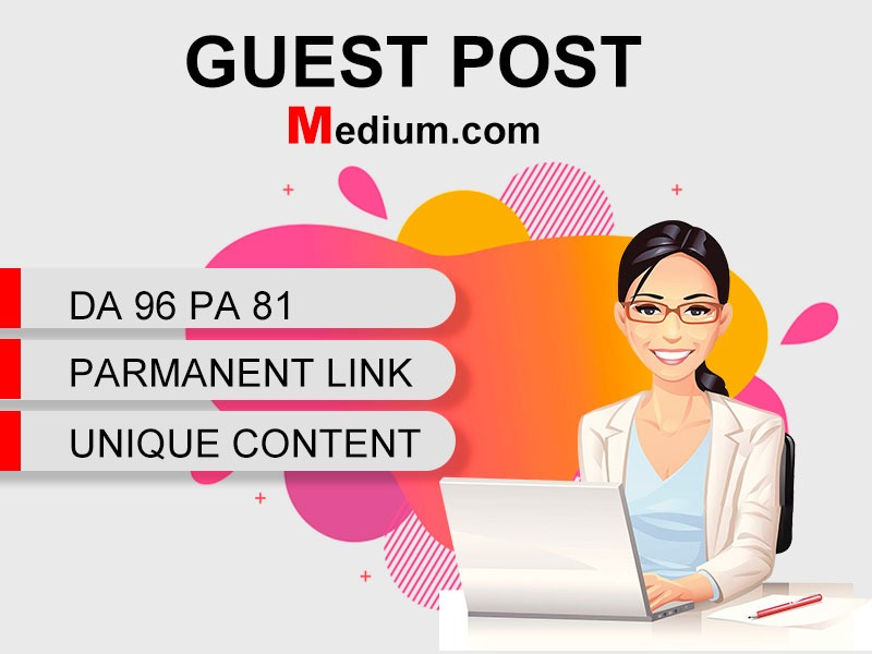 I Will Write and Publish Guest Post Backlink On Medium.com