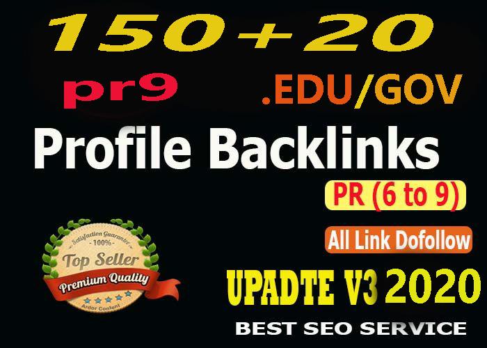 Verified 20 DA100 High PR Dofollow Backlinks to Rank Higher