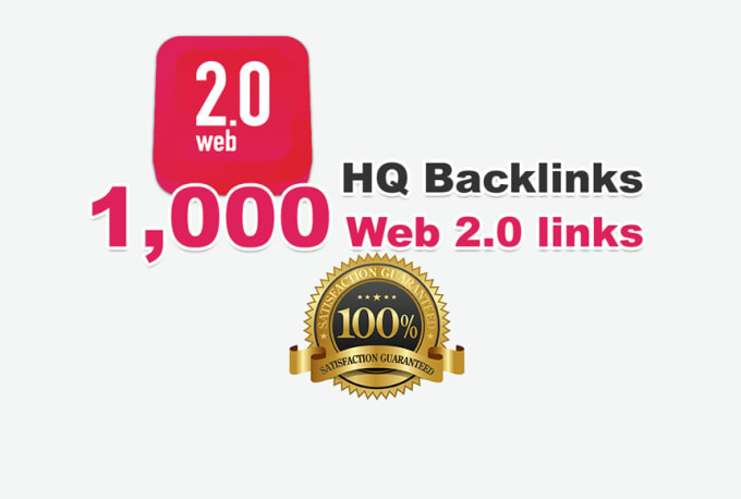 Provide you 1,000 web 2.0 High Quality backlinks