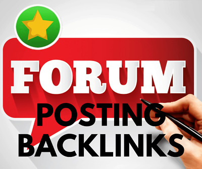 Provide 1000 forum Posting backlinks