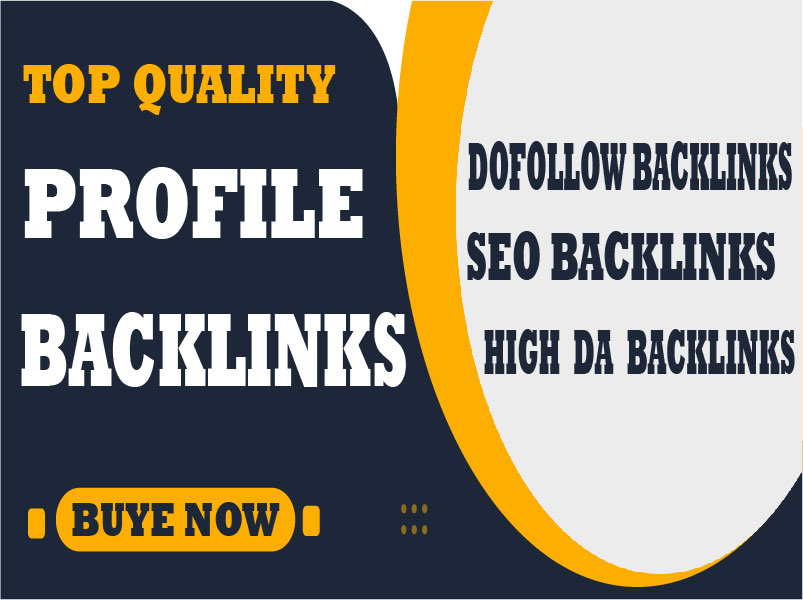I will create 100 dofollow seo profile backlinks