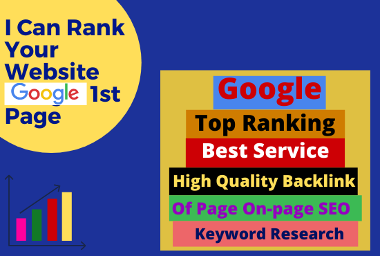 I will do completed best google top ranking services with white hat SEO