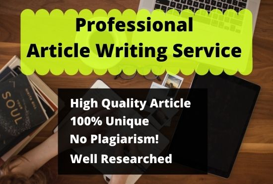 I will provide 1000 words Article writing for your blog