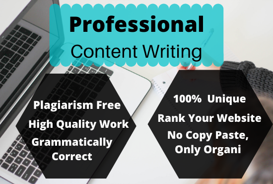 I will write up tp 1000 words unique content writing for your website
