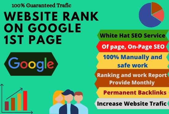 I will monthly local SEO backlinks service for 1st page google top ranking