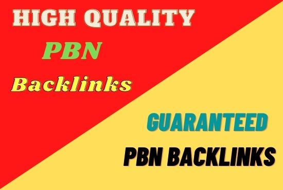 Build 15 High PA DA TF CF HomePage PBN Backlinks with Dofollow Quality Links