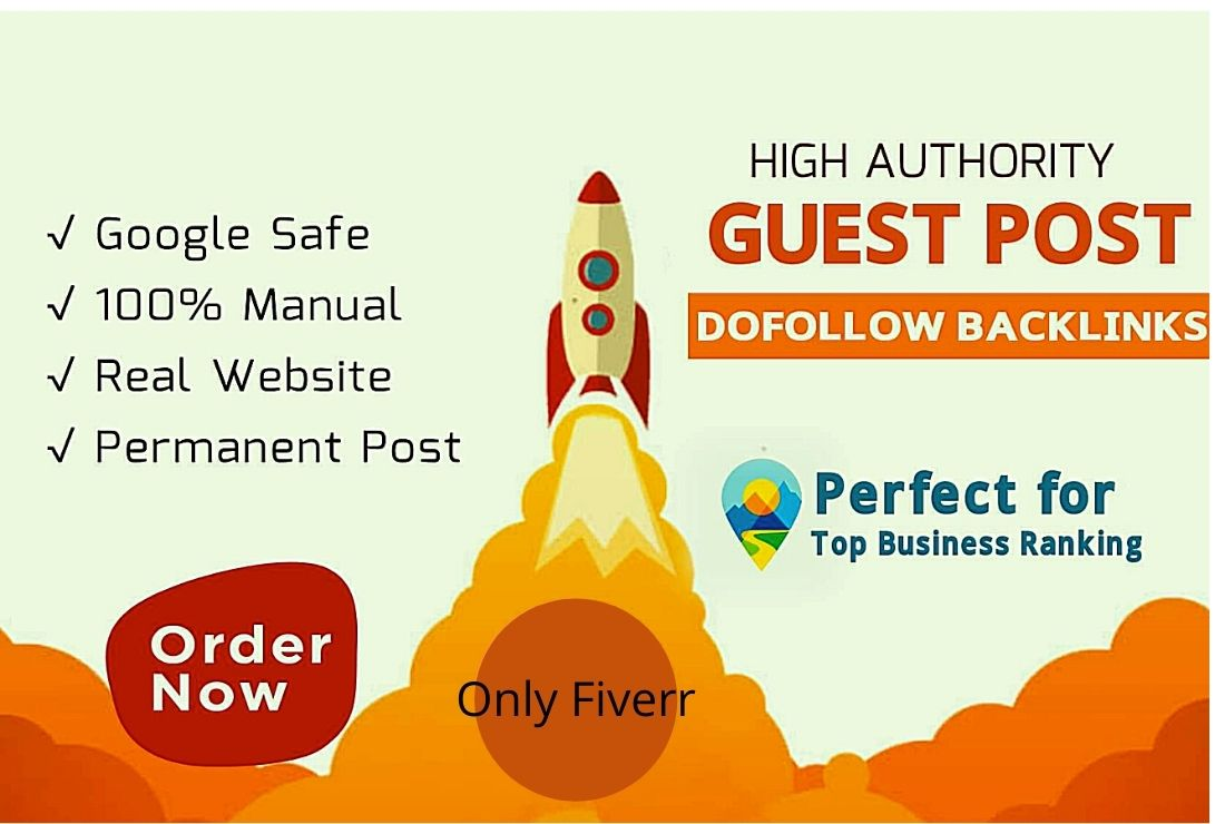 I will publish your guest post on high DA
