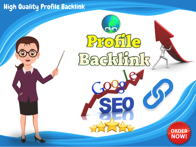 I will build High Authority 50 DA & PA Social Profile Creation Backlinks Off-page SEO Services