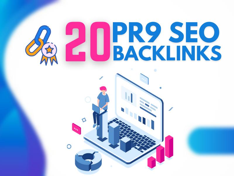 Powerful Pr9 20 Manually Created High Authority SEO Backlinks