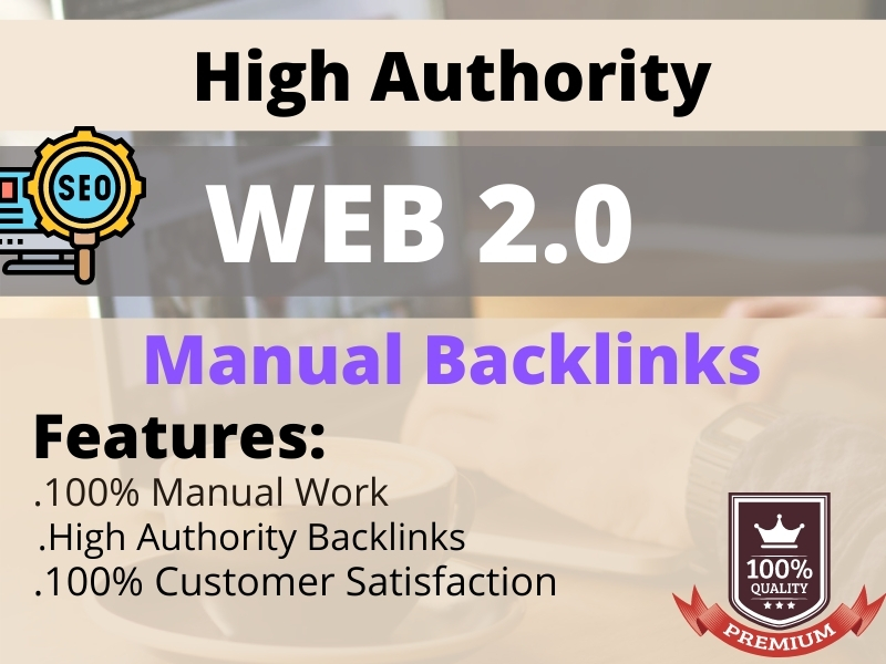 I will do 90+ high-quality Profile Backlinks.