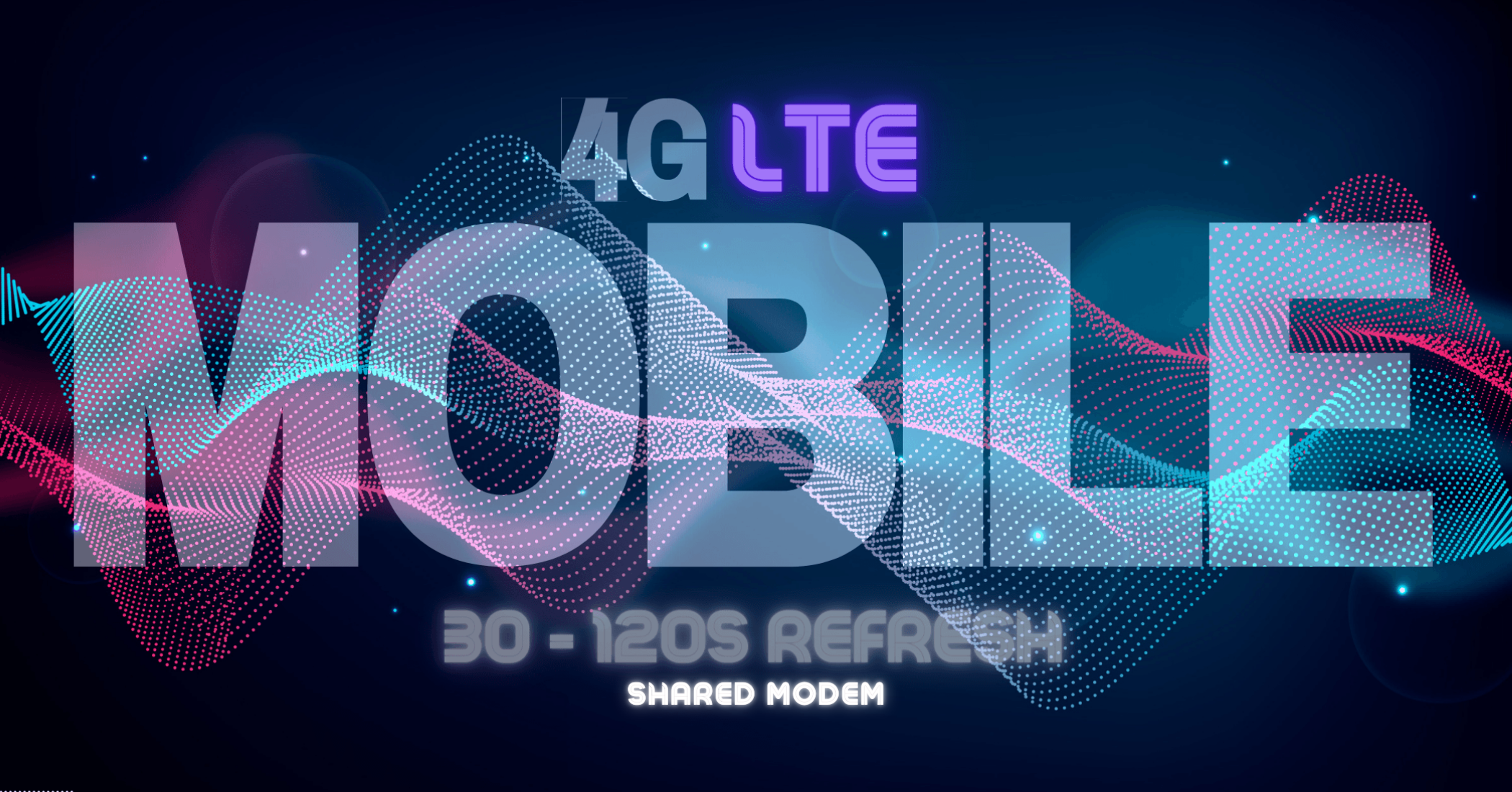 Shared - 4G LTE Mobile Proxy - 30-120 Second Refresh - AUTO DELIVERY - GREAT FOR SEO GLOBAL