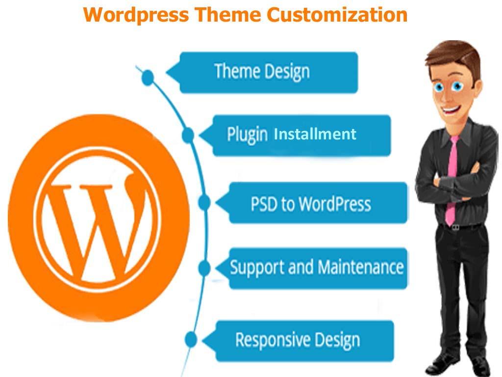 Create any professional wordpress theme Customization