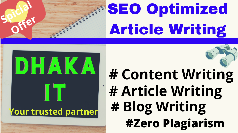 I will write informatics Content / Article based on 500+ words in any niche for SEO