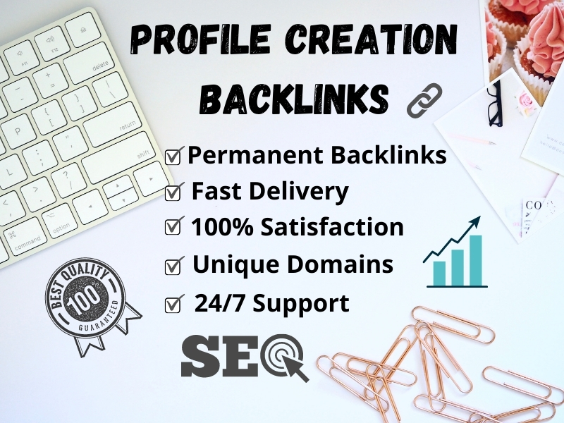 I will generate 50 high quality social media profile creation backlinks manually for advanced SEO