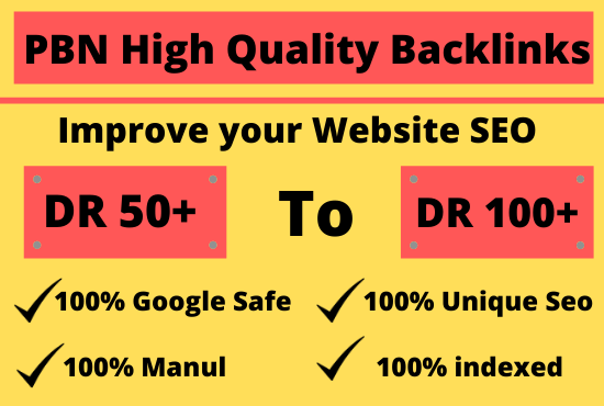 100 HOMEPAGE PBN Backlinks to Boost your Website Ranks