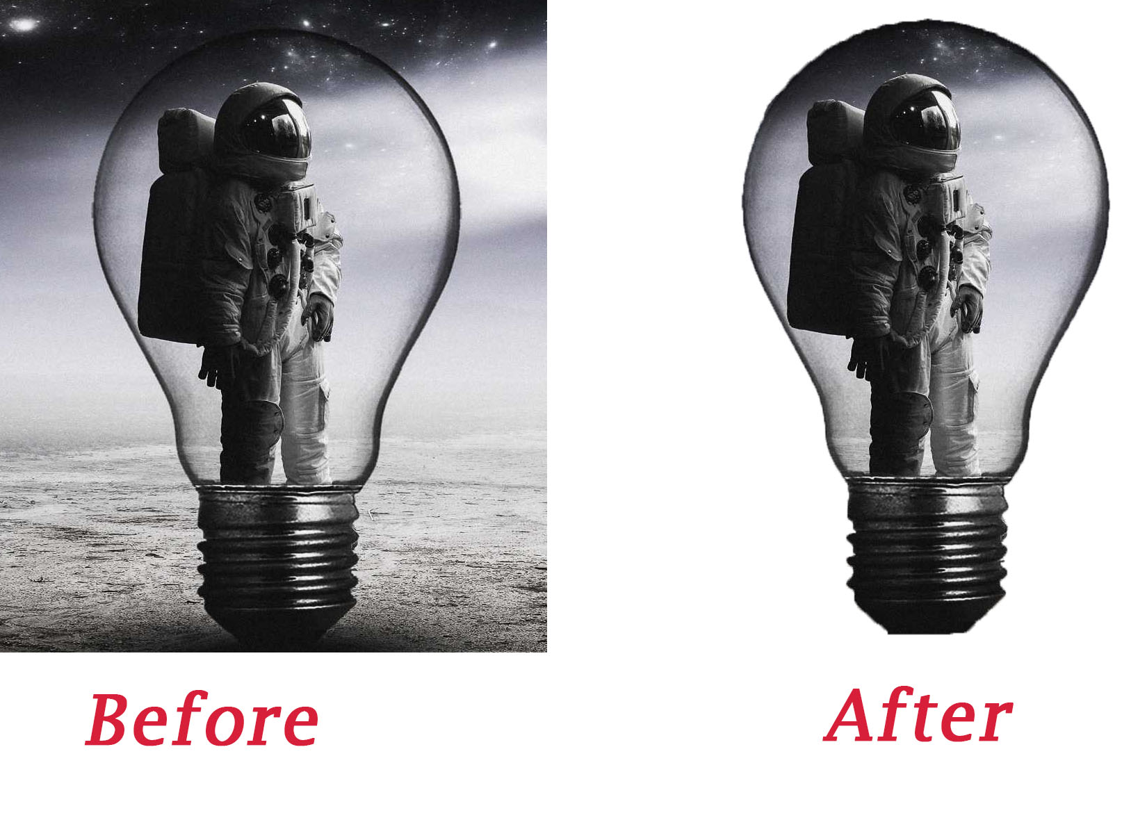 I will remove background and photo edit on your image