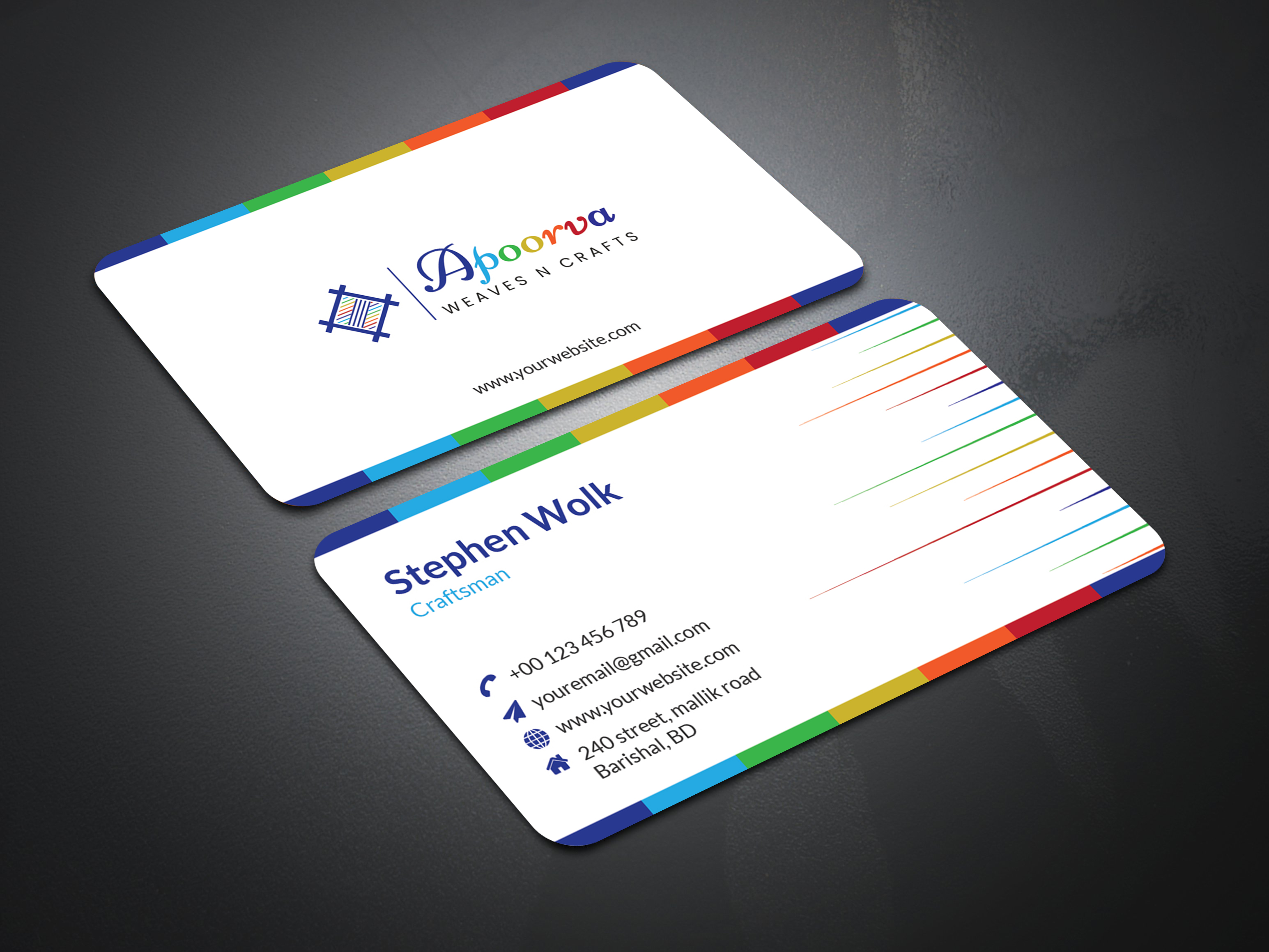 I will make an outstanding business card for you.