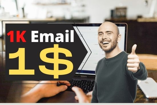 I Will Provide Valid and targeted Bulk Email and marketing with Mailchimp