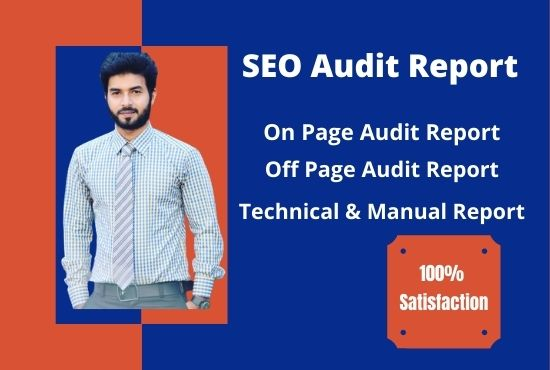 I will provide high quality seo audit report