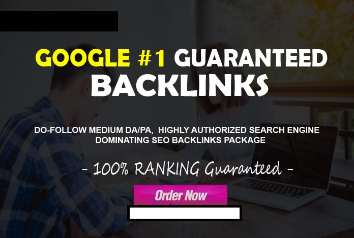 I will do first page google ranking high authorized seo backlinks