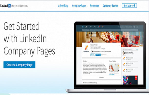 I will create professional linkedin business page