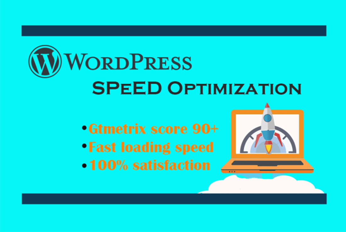 I will provide wordpress speed optimization in one day