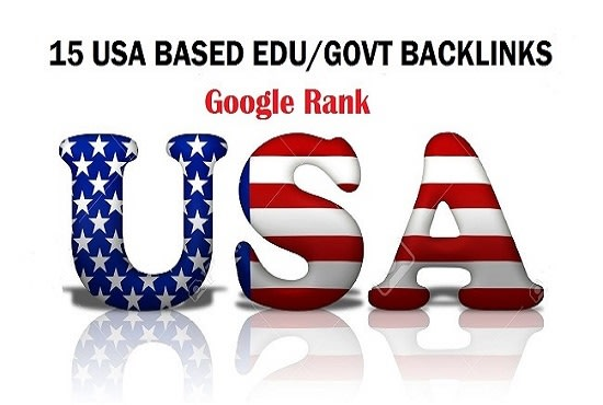 I will do 50 USA edu, gov high quality backlinks up to pr9