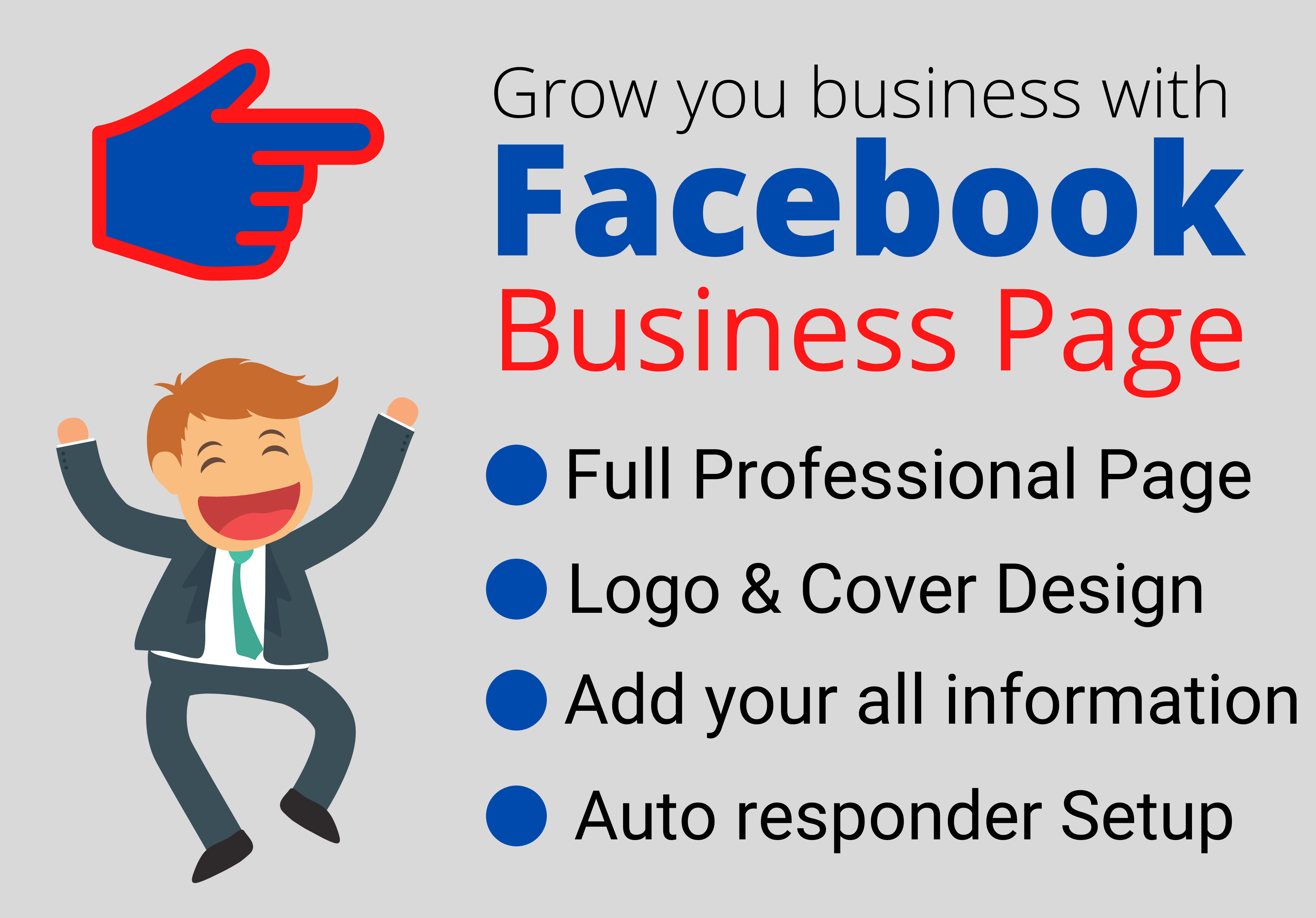 I will Create Profesational Facebook Business Page