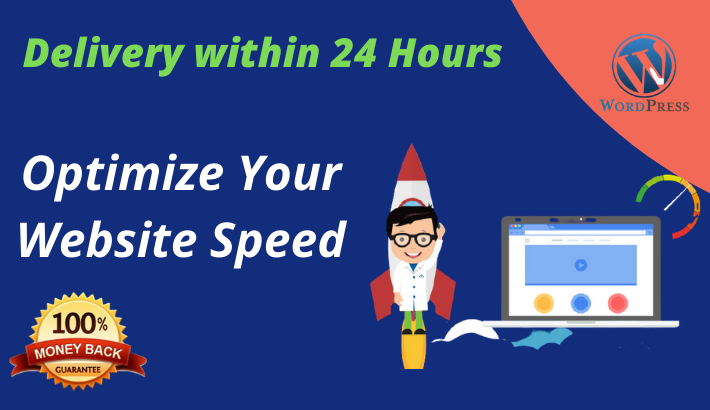 I will optimize your wordpress website speed and increase page speed