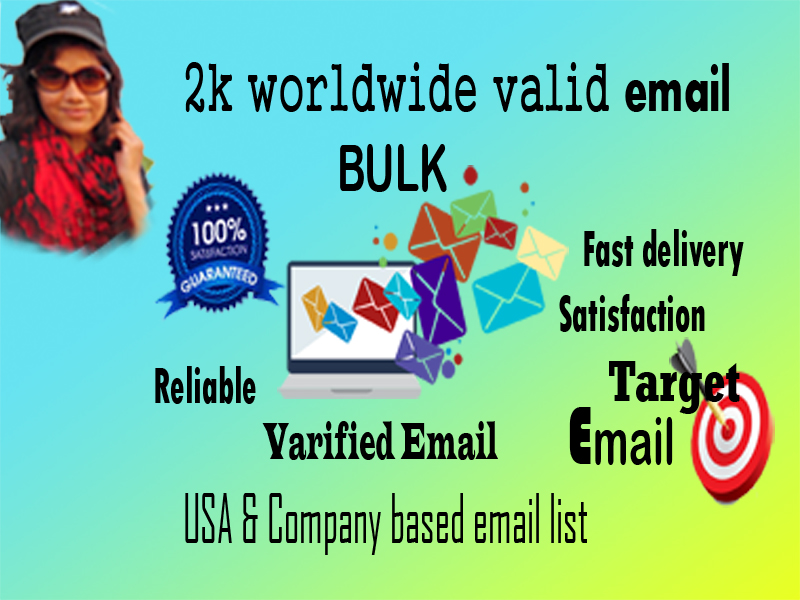 I will deliver worldwide legal email