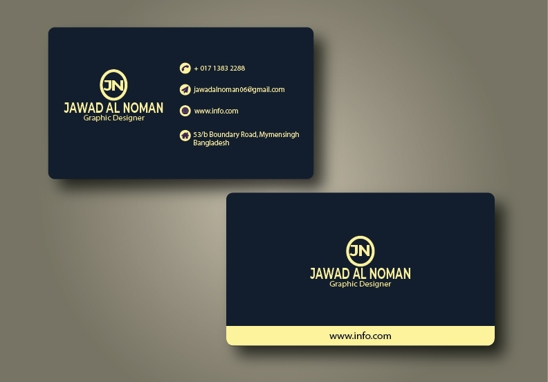 I will make professional Business Card designe