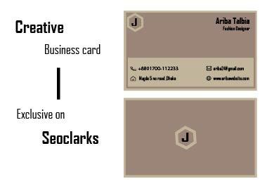 I will create luxury Business card