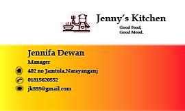 I will create a creative business card
