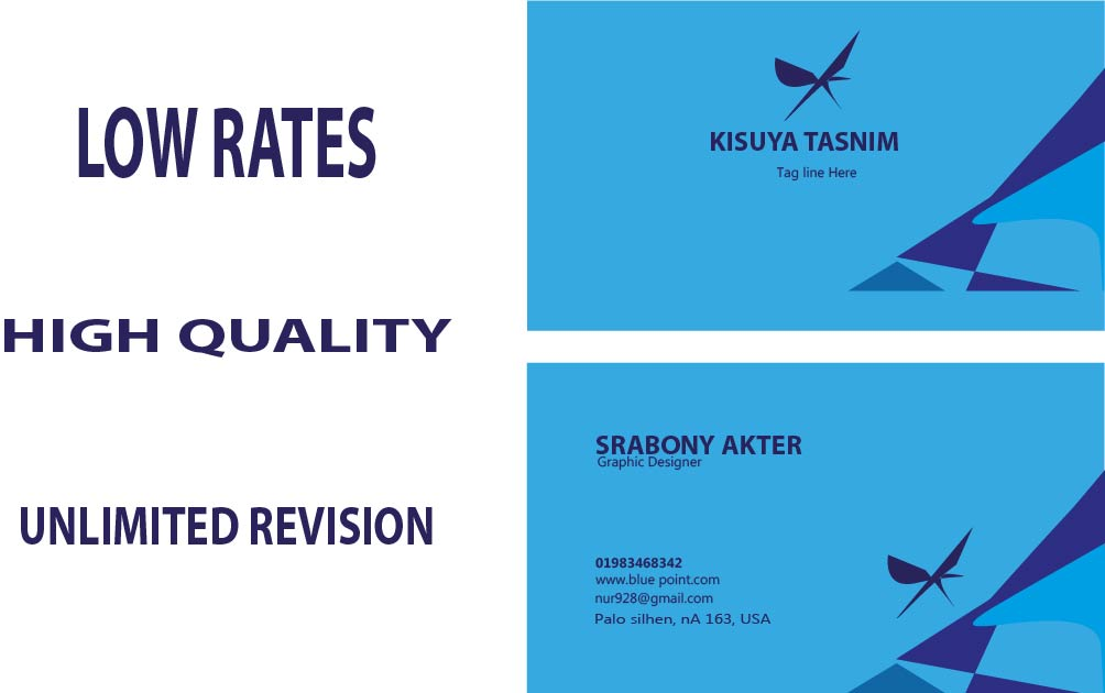 I will make professional business card that will suit your needs.