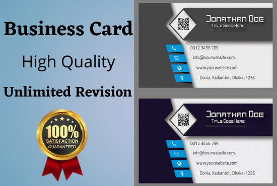 I will Create Professional Unique Business Card