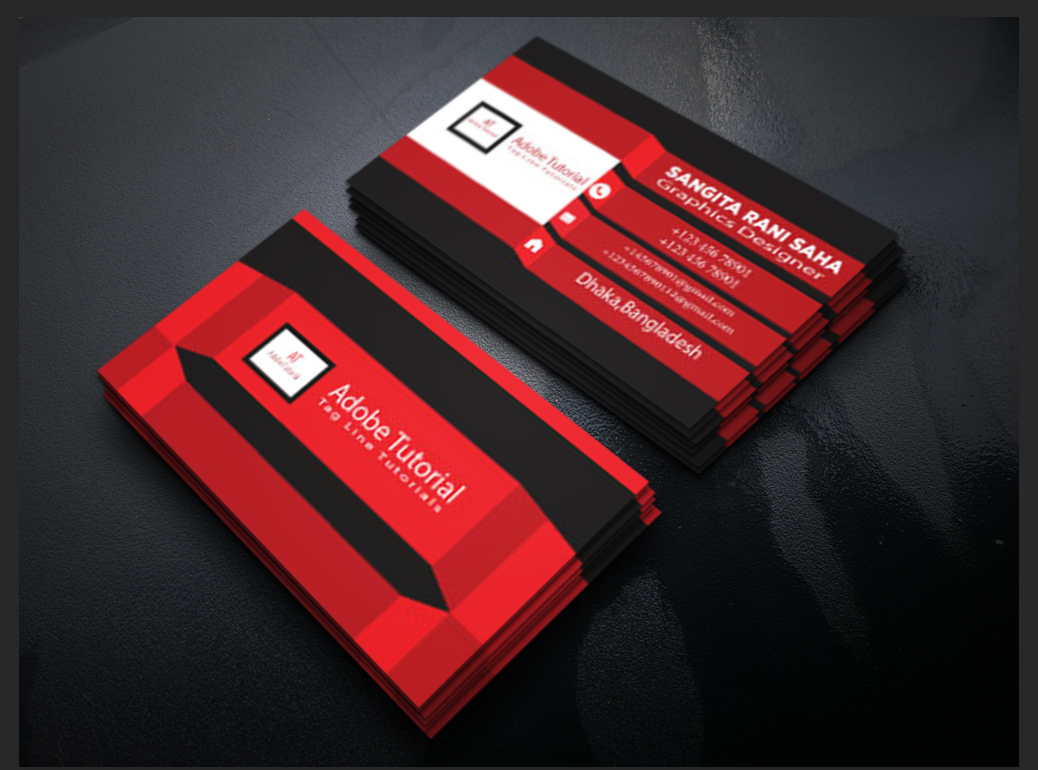 make awesome professional businesscard for you